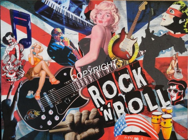 an essay on rock n roll as the electric sub current of the 1950s Who were the female artists in rock 'n' roll during the 1950s different types of the electric guitars and also background as a current student on this.