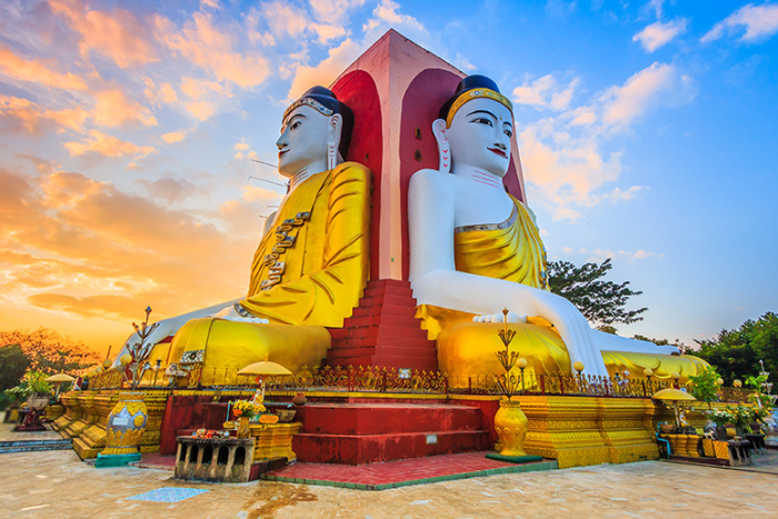 Бирма - страна, в которой Буддизм, является главенствующей религией. | Фото: oum.ru.