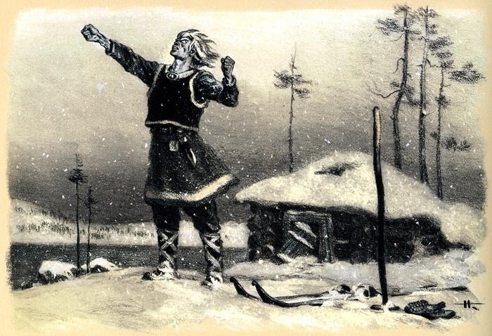 У финно-угорских народов Севера не было единого большого эпоса, а запрос на него в финском сообществе был.
